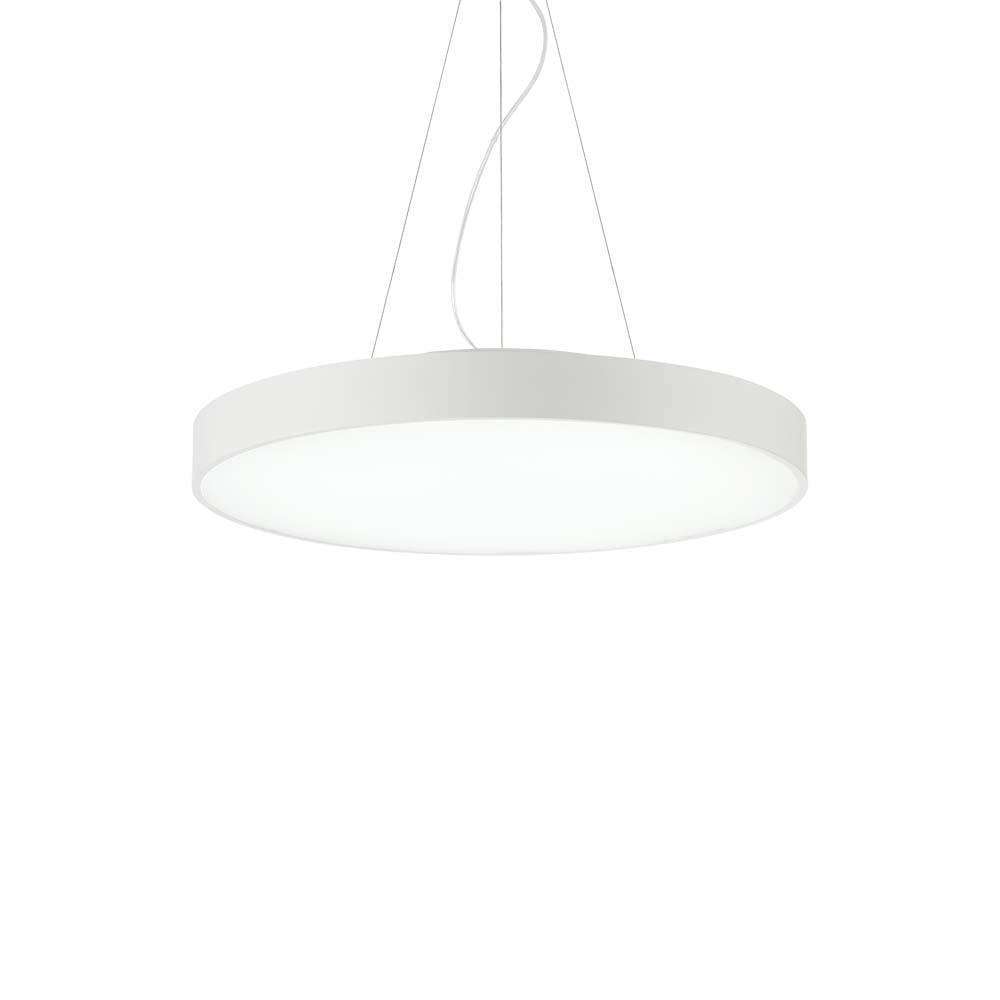 Ideal Lux LED Hängeleuchte Halo Ø 60cm 3000K Weiß 2