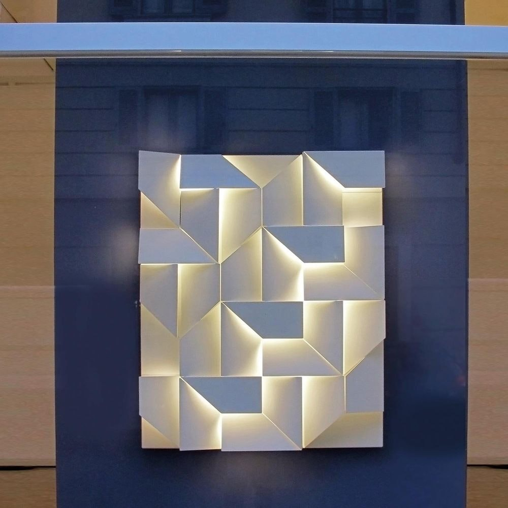 Nemo Wall Shadows Grand LED Wandlampe 120x90cm 3