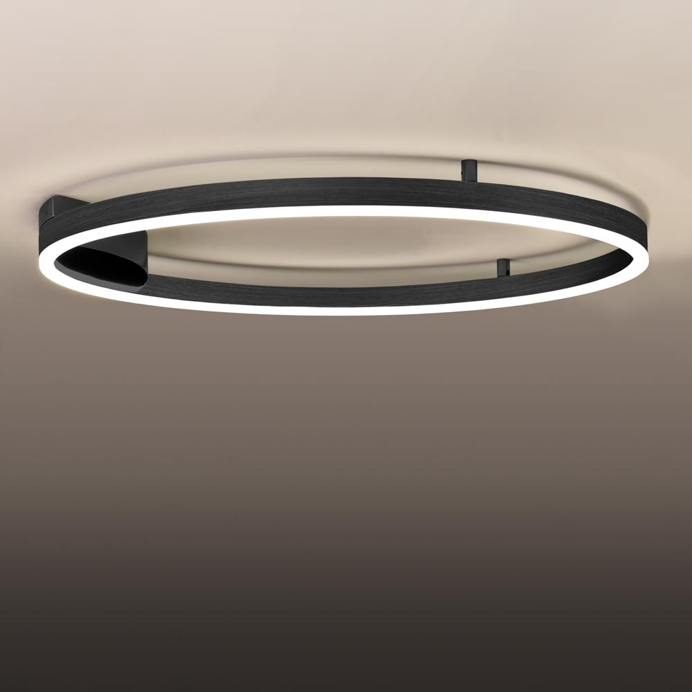 s.LUCE Ring 80 Wand & Deckenlampe LED Dimmbar 3