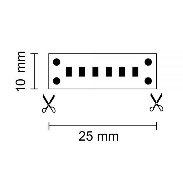 LED Strip Linear 5m 4250lm 24V Warmweiß 3