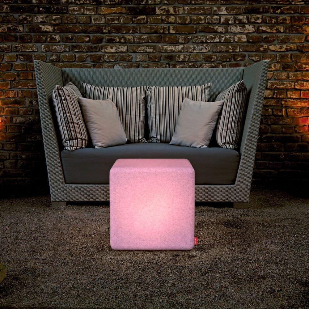 Moree Granite Cube Outdoor LED Sitzwürfel 1