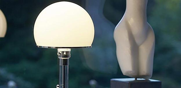 Bauhaus Lampe