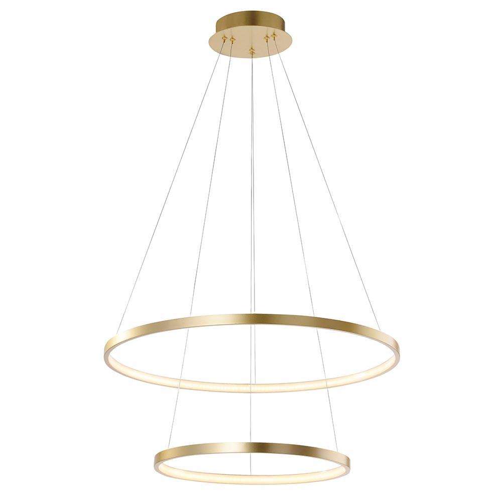 LED Ring-Hängeleuchte Circle Ø 50cm 2
