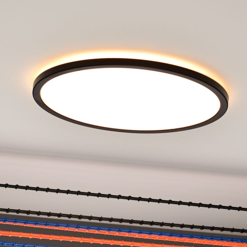s.LUCE Disk 35cm LED Deckenleuchte warmweiß dimmbar 2