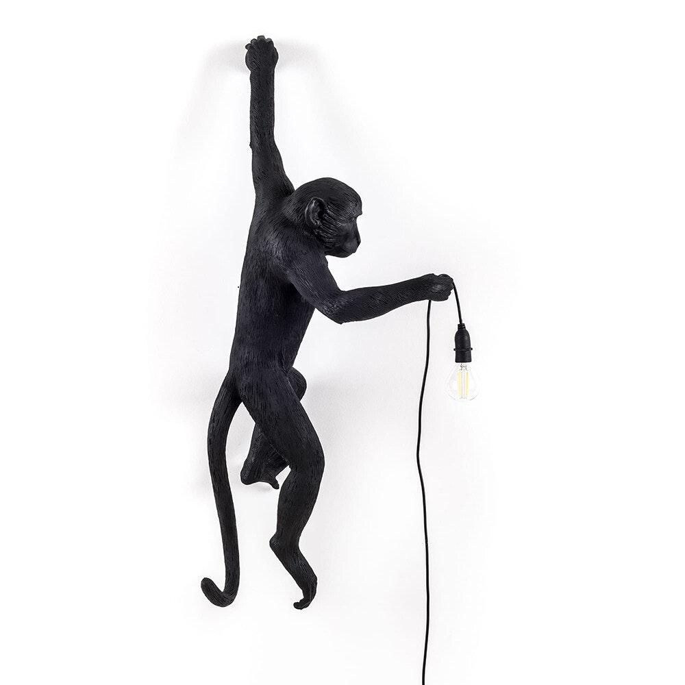 Seletti Monkey Aussen-Wandleuchte hängend linke Hand 1
