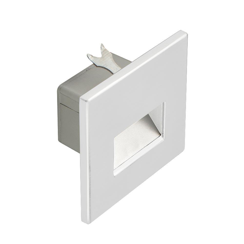 s.LUCE LED-Wandeinbauleuchte Box 230V Weiß 2