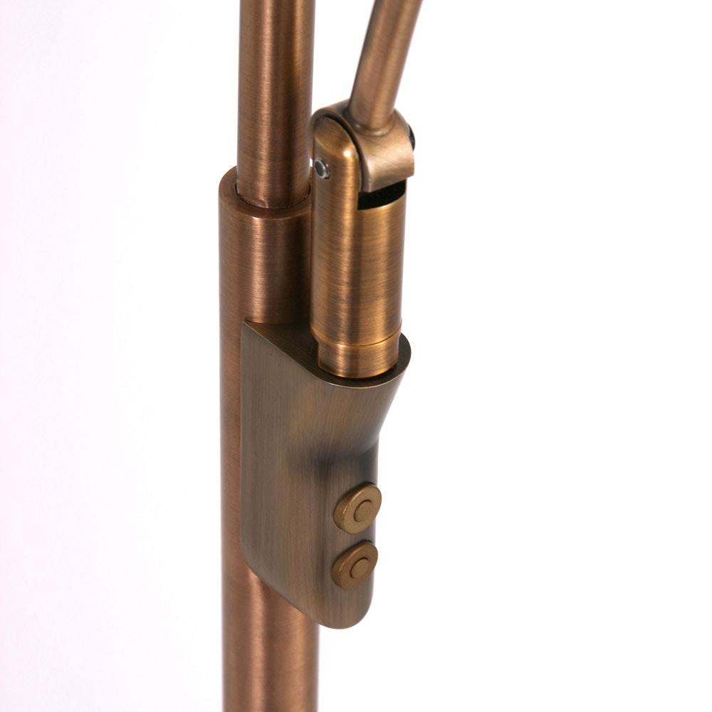 Steinhauer LED-Deckenfluter Zenith mit Lesearm & Tastdimmer CCT thumbnail 5