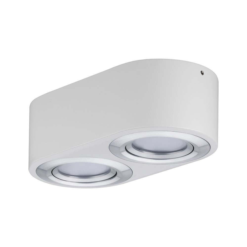 Wandleuchte Argun LED 2x4,8W Weiß Alu-Gebürstet 5