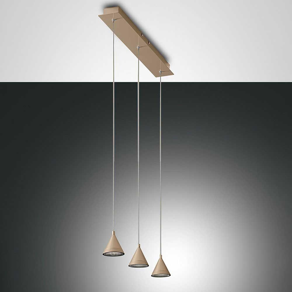 Fabas Luce LED Pendelleuchte Delta Metall 5