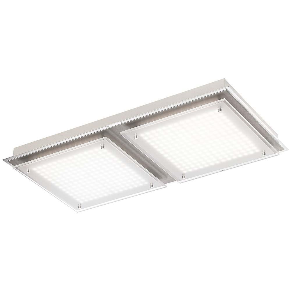 Feld LED Deckenleuchte Stahl