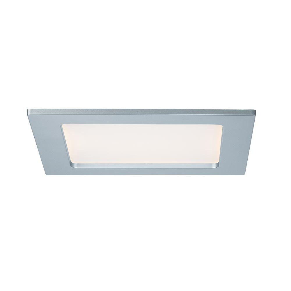 Einbaupanel LED eckig 12W 2700K IP44 1