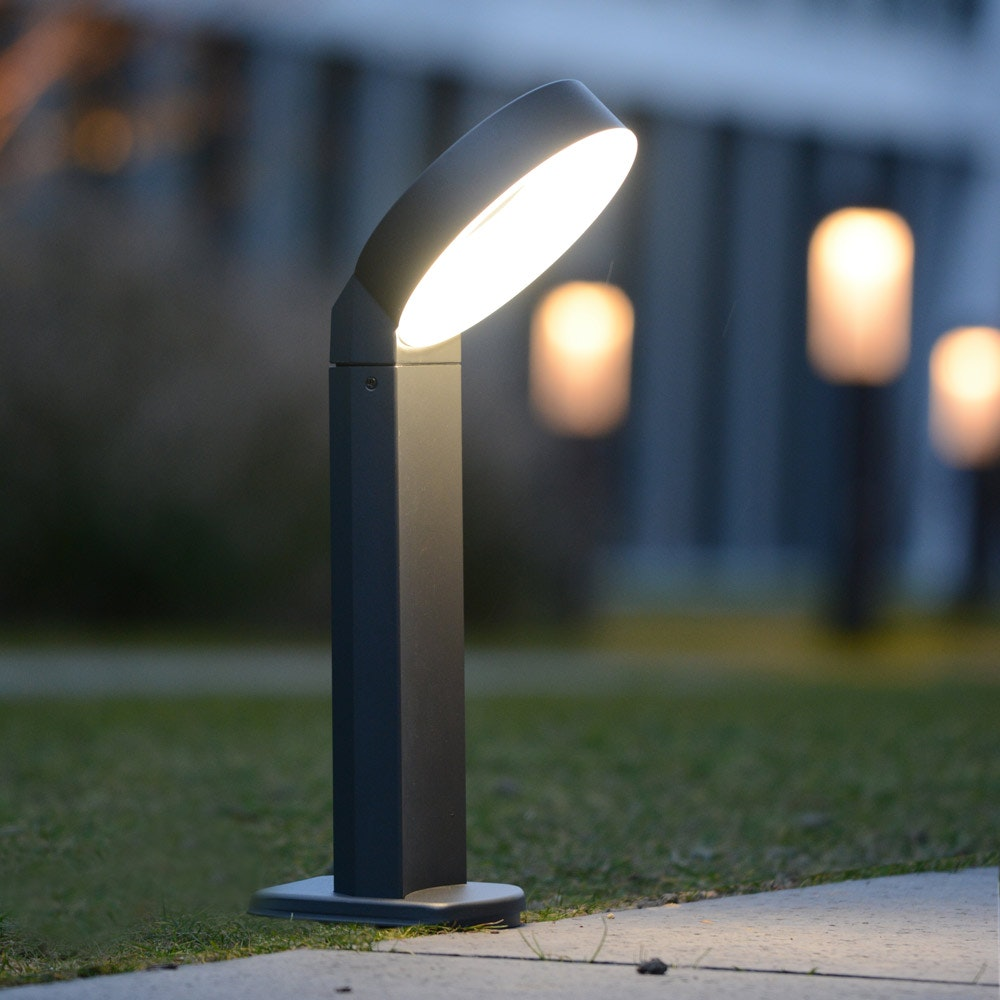 Meridian LED-Wegeleuchte IP44 800lm Anthrazit 3
