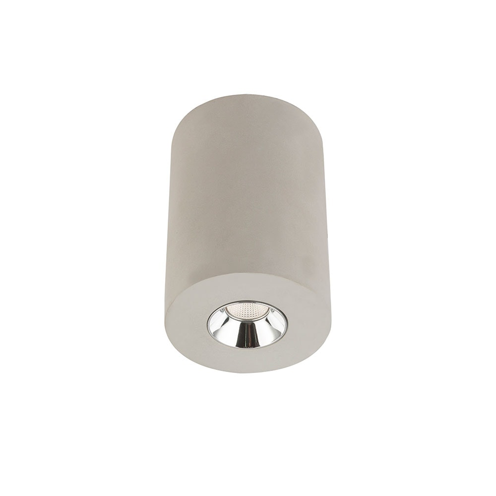 LED Deckenleuchte Timo Grau 1