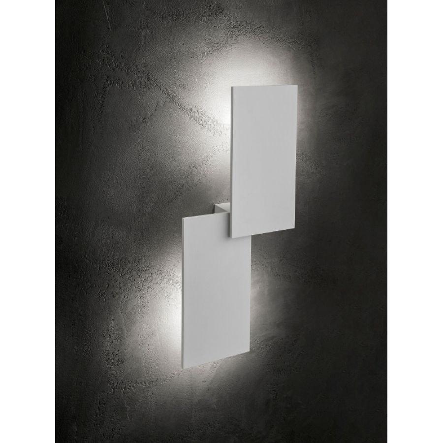 Lodes Puzzle Double eckig 66cm LED Wand- & Deckenleuchte 2