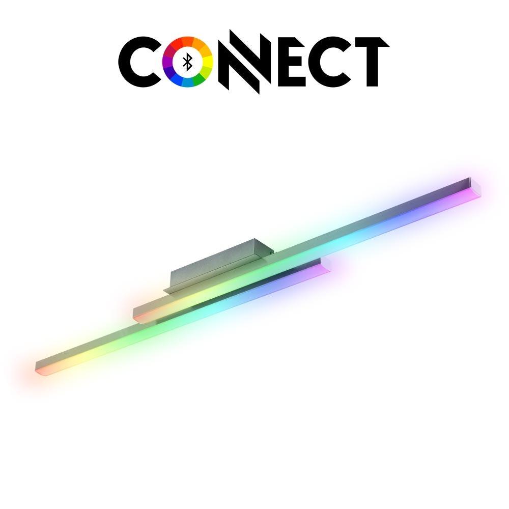 Connect LED Deckenlampe 2-flg. 4600lm RGB+CCT 1