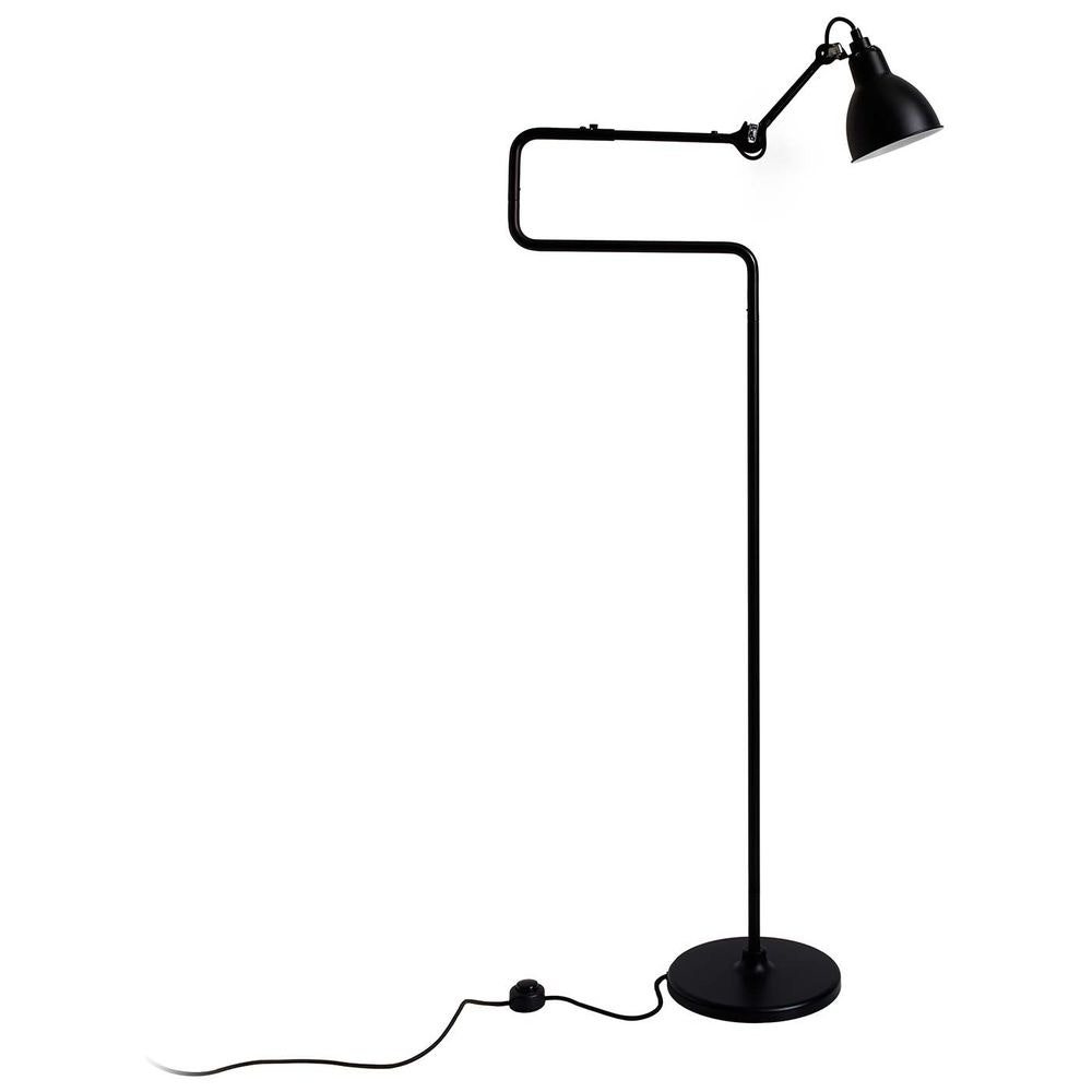 DCW Gras N°411 Stehlampe mit Schirm drehbar 15