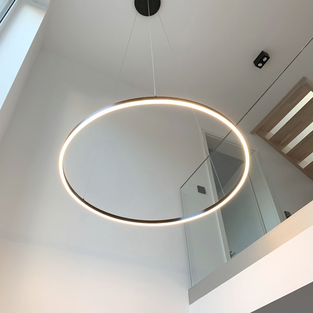 s.LUCE Ring 100 LED Hängelampe Dimmbar 3