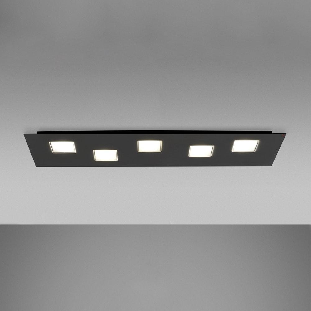 Fabbian Quarter LED-Deckenleuchte rechteckig 5-flammig 3
