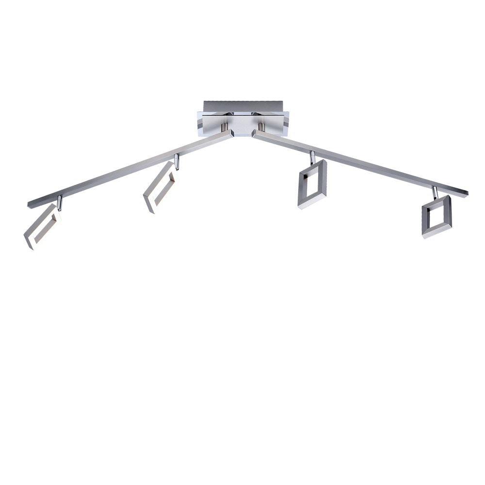 Inigo LED Deckenleuchte Stahl 1