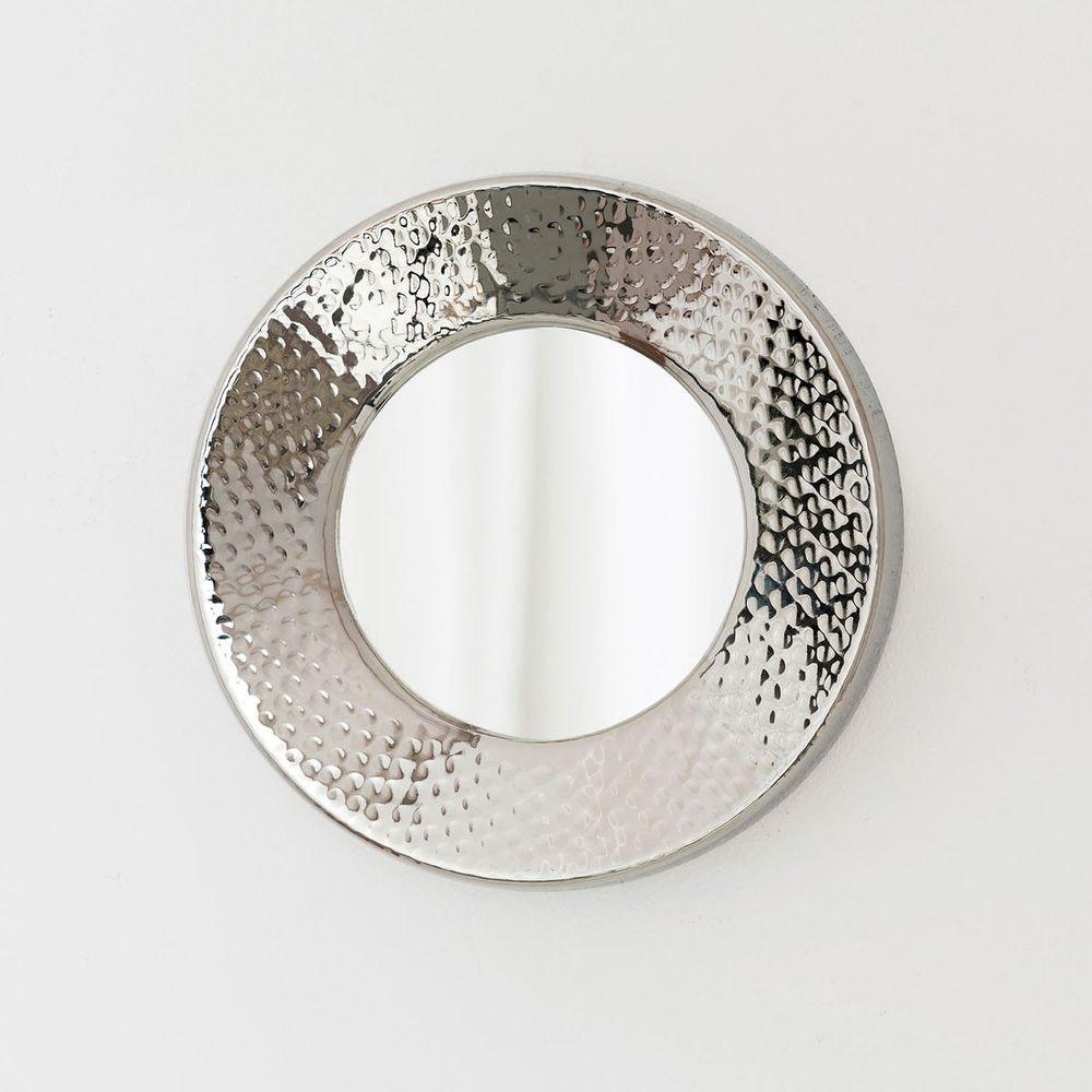 Spiegel Dessert Aluminium-Spiegelglas Silber