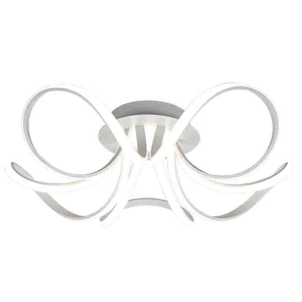Mantra Knot Weiße LED-Deckenleuchte – Dimmbare version 2