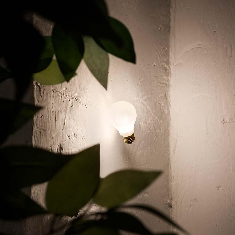 Slamp Einbau-Wandlampe Glühbirne Idea Applique Weiß 1