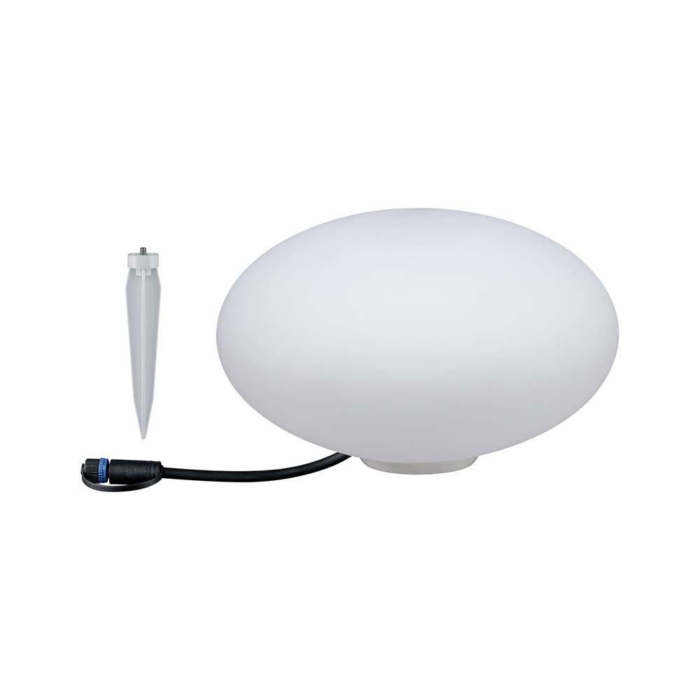 LED Plug & Shine Lichtobjekt Stein Ø 28cm IP67 24V 3000K 235lm 4