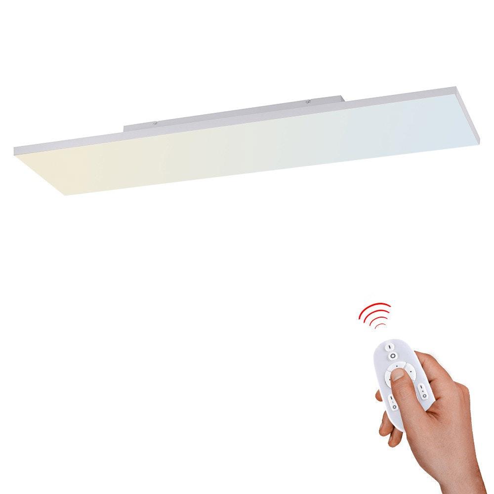 Q-Flat 2.0 rahmenloses LED Deckenleuchte 100 x 25cm CCT + FB Weiß 1