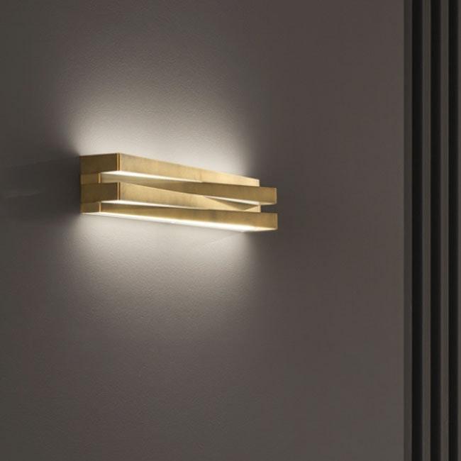 Panzeri Cross LED Wandlampe indirekt und direkt