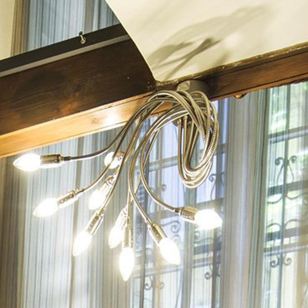 Catellani & Smith Turciù 9 LED Wandleuchte 60cm Flex
