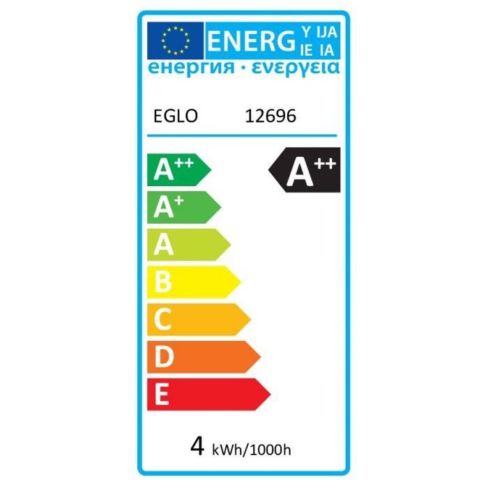 E27 LED Spirale Ø 8cm 4W, 400lm Warmweiß zoom thumbnail 2