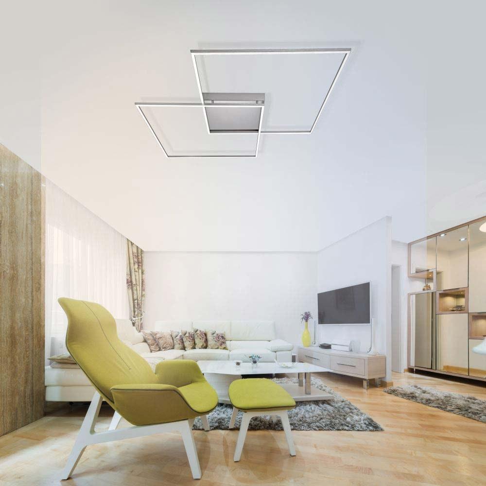 LED Deckenlampe Q-Inigo 2x 28W CCT 7