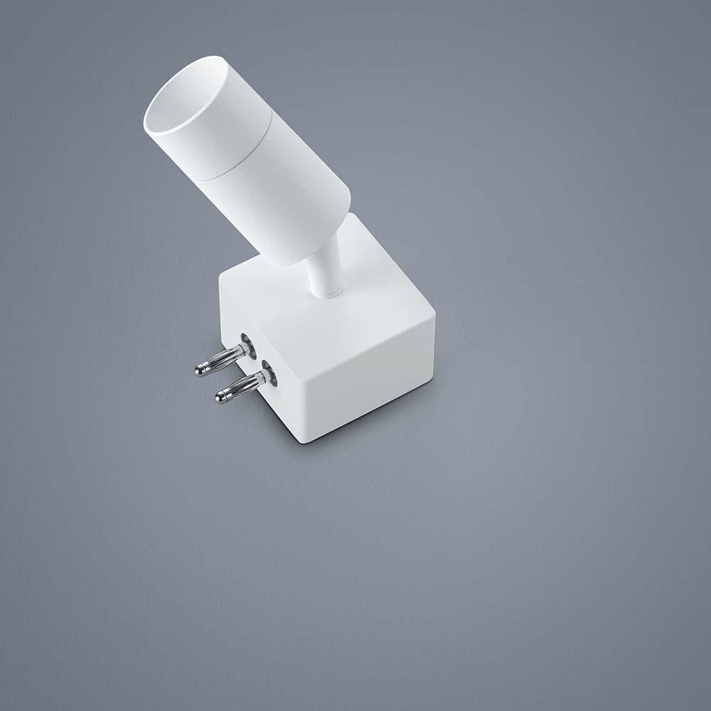 Helestra LED Strahler-Endstück Vigo Weiß 1