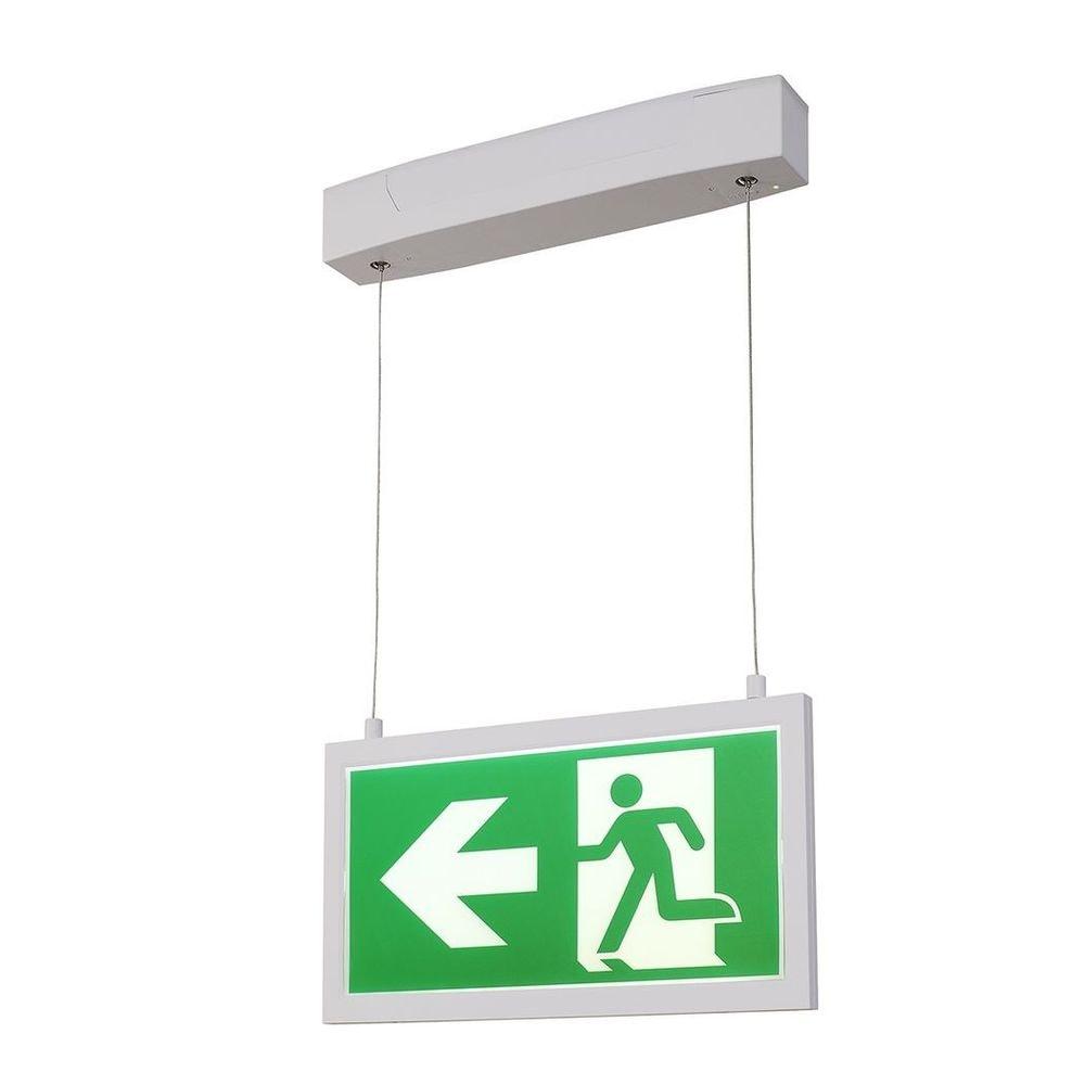 SLV P-Light Emergency Series Exit Sign Big Pendant Weiß 3