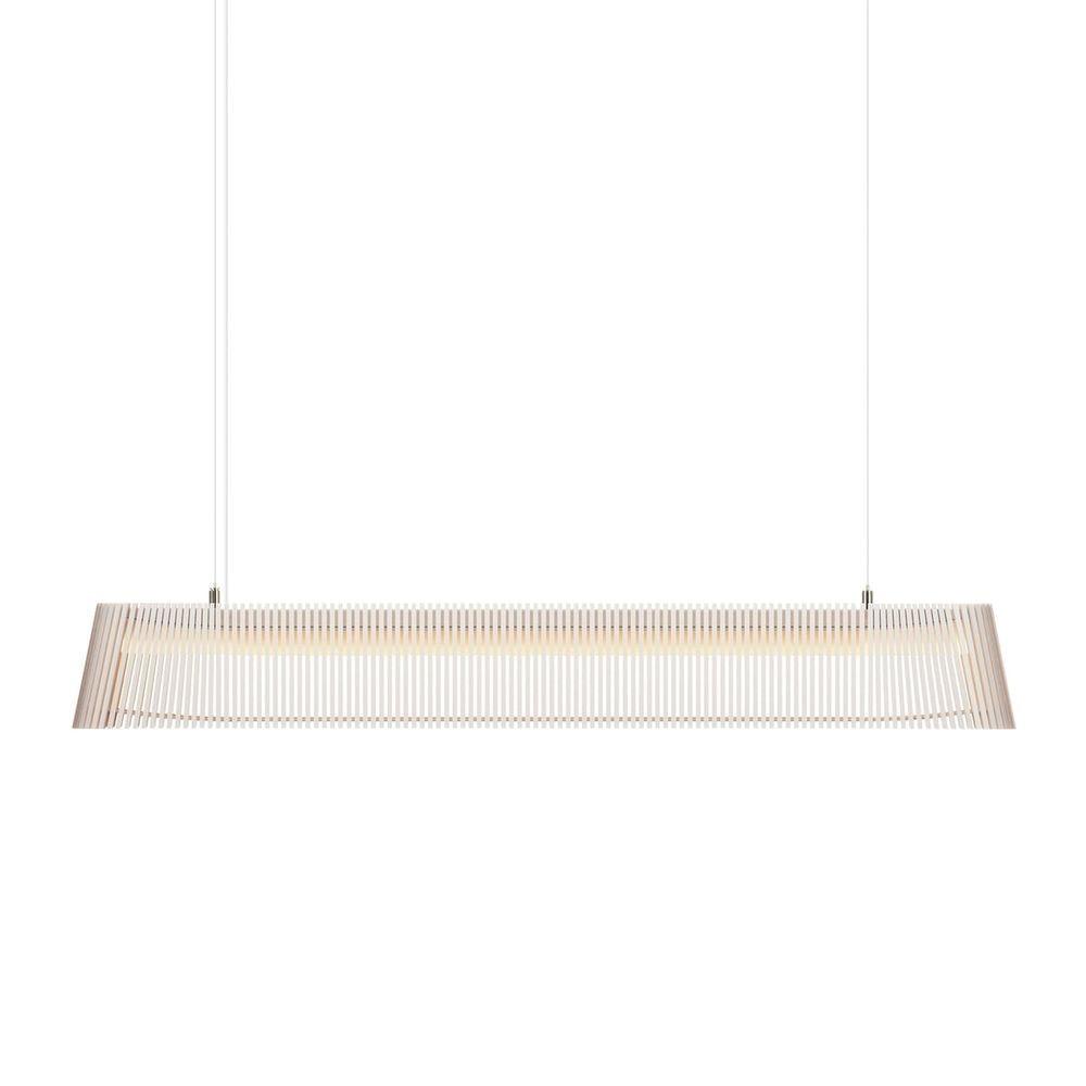 LED Pendelleuchte Owalo 7000 aus Holz 100cm 9