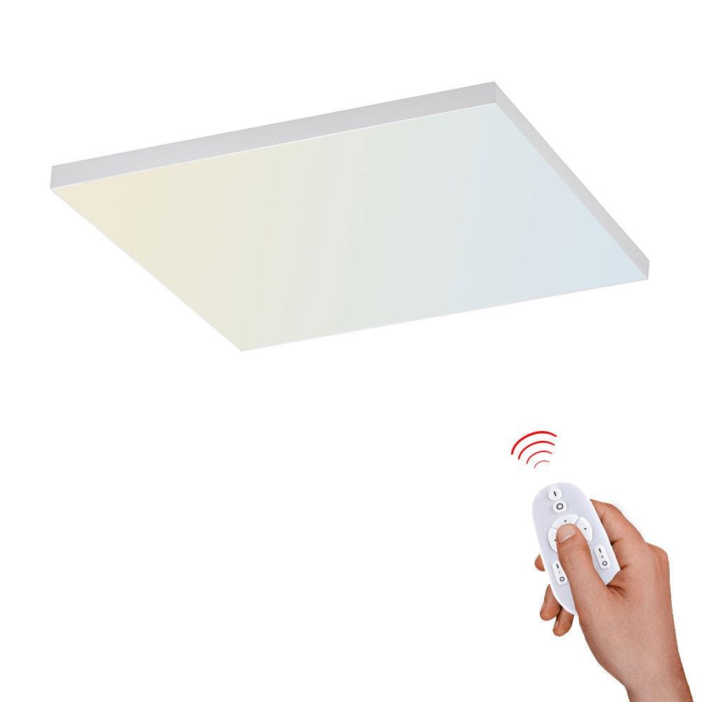 Q-Flat 2.0 rahmenlose LED Deckenleuchte 45 x 45cm CCT + FB Weiß 1