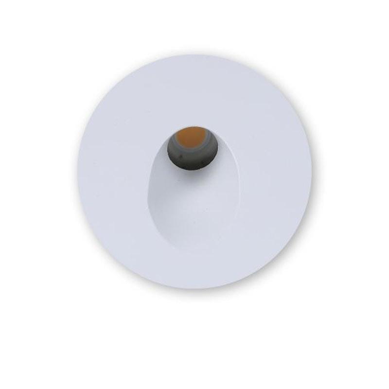 Abdeckung Sys-Wall 68 für LED-Wandeinbaustrahler Rund 1 2