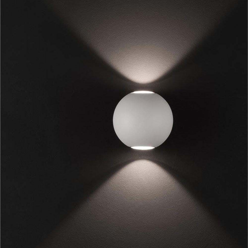 Nova Luce Zari Mini Wandleuchte 5cm Lichtstrahlen IP54 1