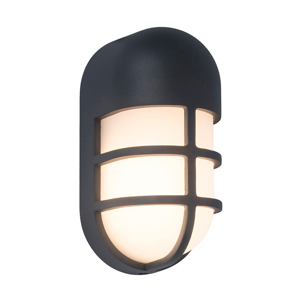 LED-Außenwandleuchte Bullo Anthrazit 2