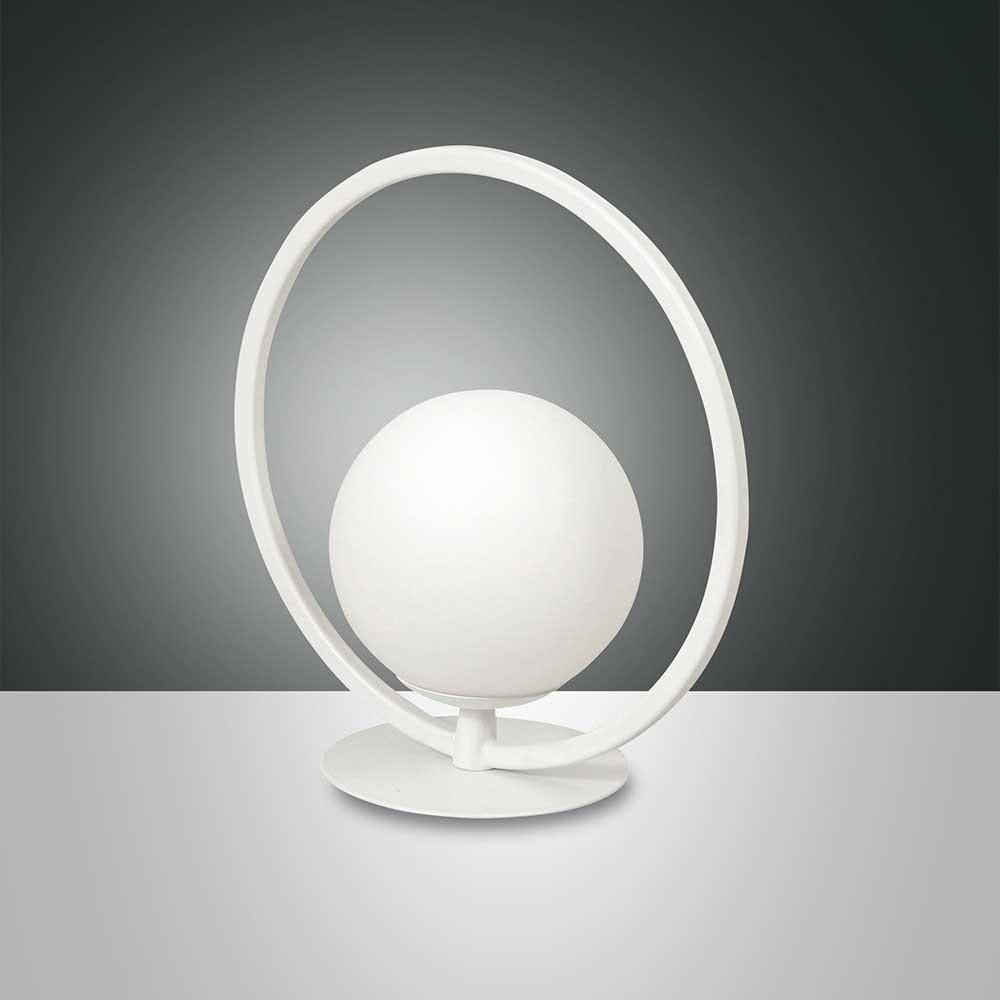Fabas Luce LED Tischlampe Sirio Rund 1