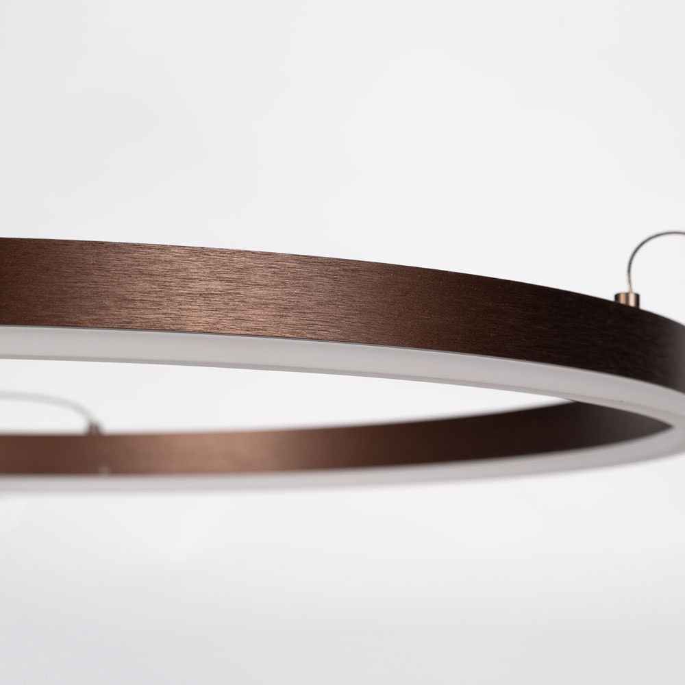 s.LUCE Ring 100 LED Hängelampe Dimmbar 12