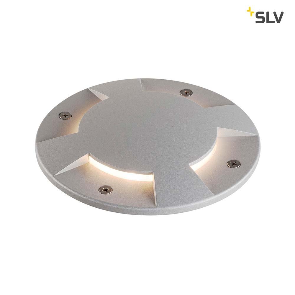 SLV Big Plot Abdeckung 4 Auslässe Silbergrau 2