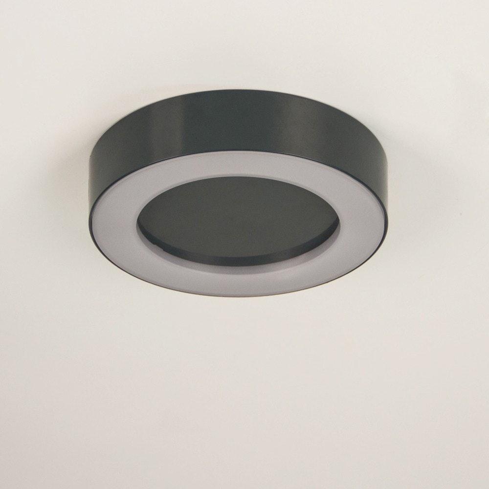 s.LUCE Hole LED-Aussenleuchte Ø 20cm Wand & Decke 10W Anthrazit 6