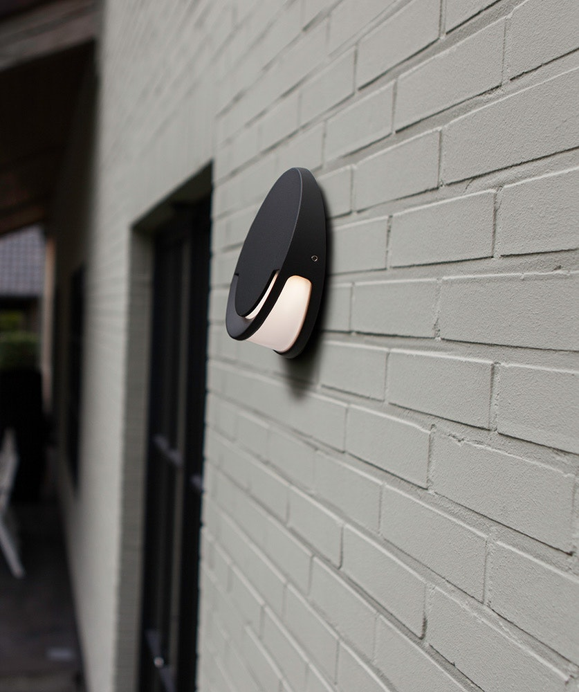 LED Außenwandleuchte Sandwy IP54 Anthrazit 5