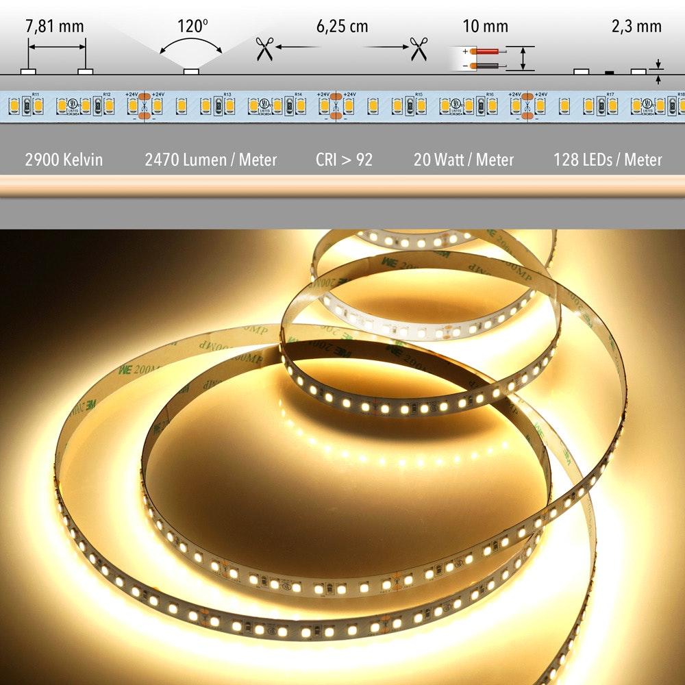 5m LED Lichtband 24V auf Wunsch  22