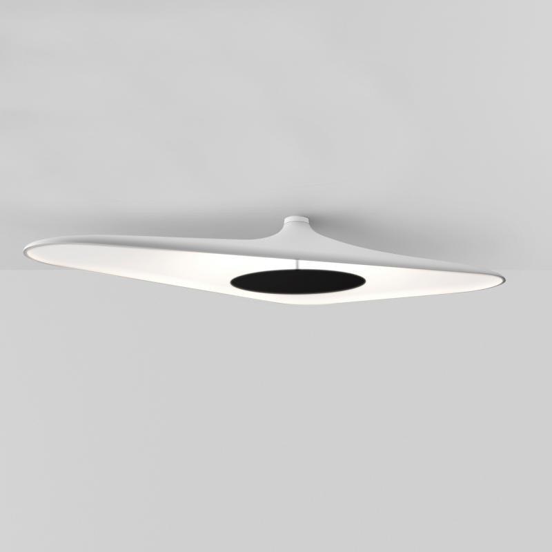 Luceplan LED Deckenlampe Soleil Noir 120 x 62cm 1