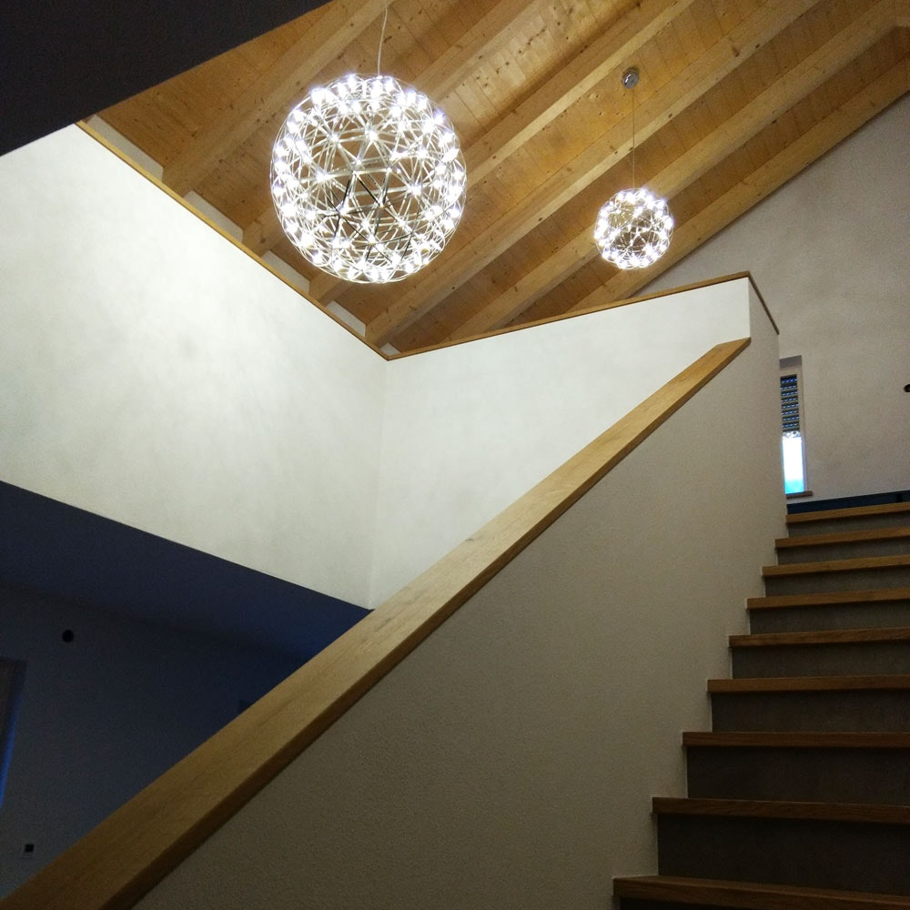 s.LUCE pro Atom 70 dimmbare LED-Pendelleuchte Metallkugel 4