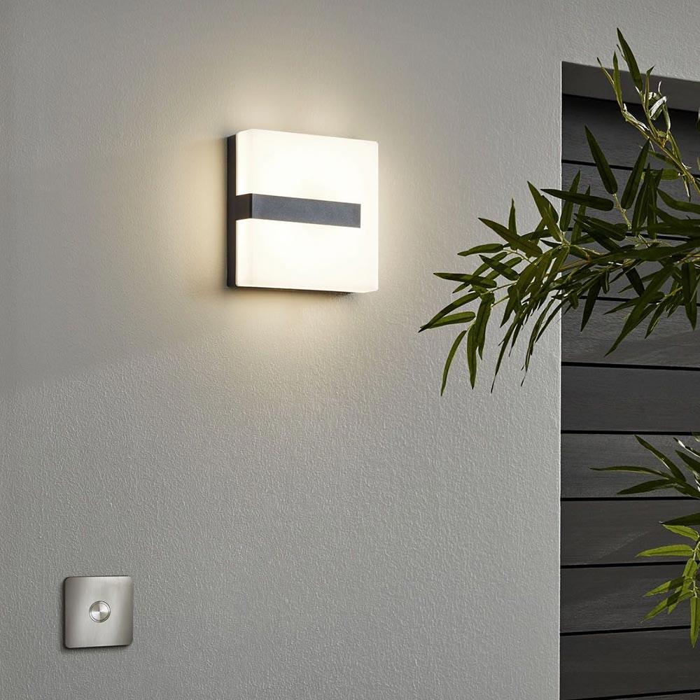 Connect LED Aussenwandlampe 1400lm IP44 Warmweiß 1