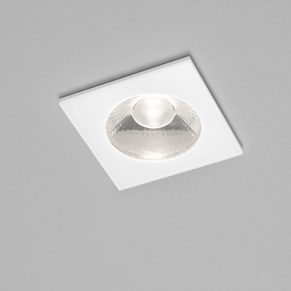 Helestra LED Deckeneinbauleuchte Oso IP54 Weiß 1