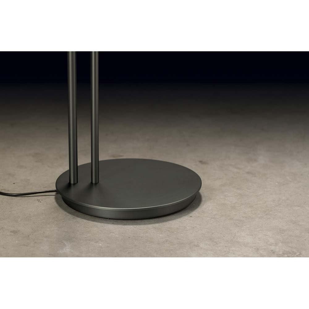 Holtkötter LED-Deckenfluter NOVA-PLANO Platin Tastdimmer 6500+2200lm 2700K 3